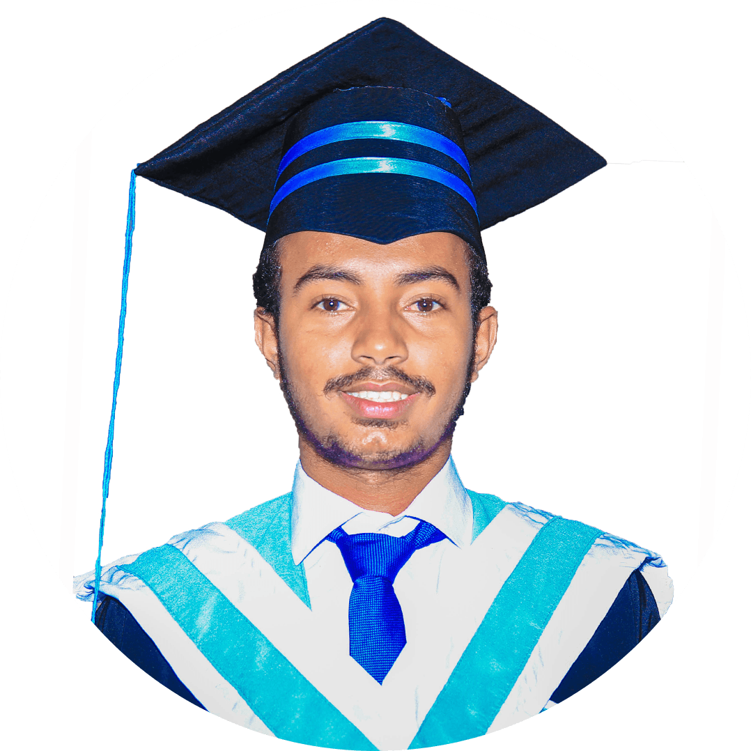 Abubakar Abdiaziz Mohamed, Hormuud University is dedicated to its students. It is taking us into the depths of the ocean of knowledge in the field of engineering/Civil Eng. I have high hopes from the faculty members who very politely give us lessons with the use of their golden knowledge.
