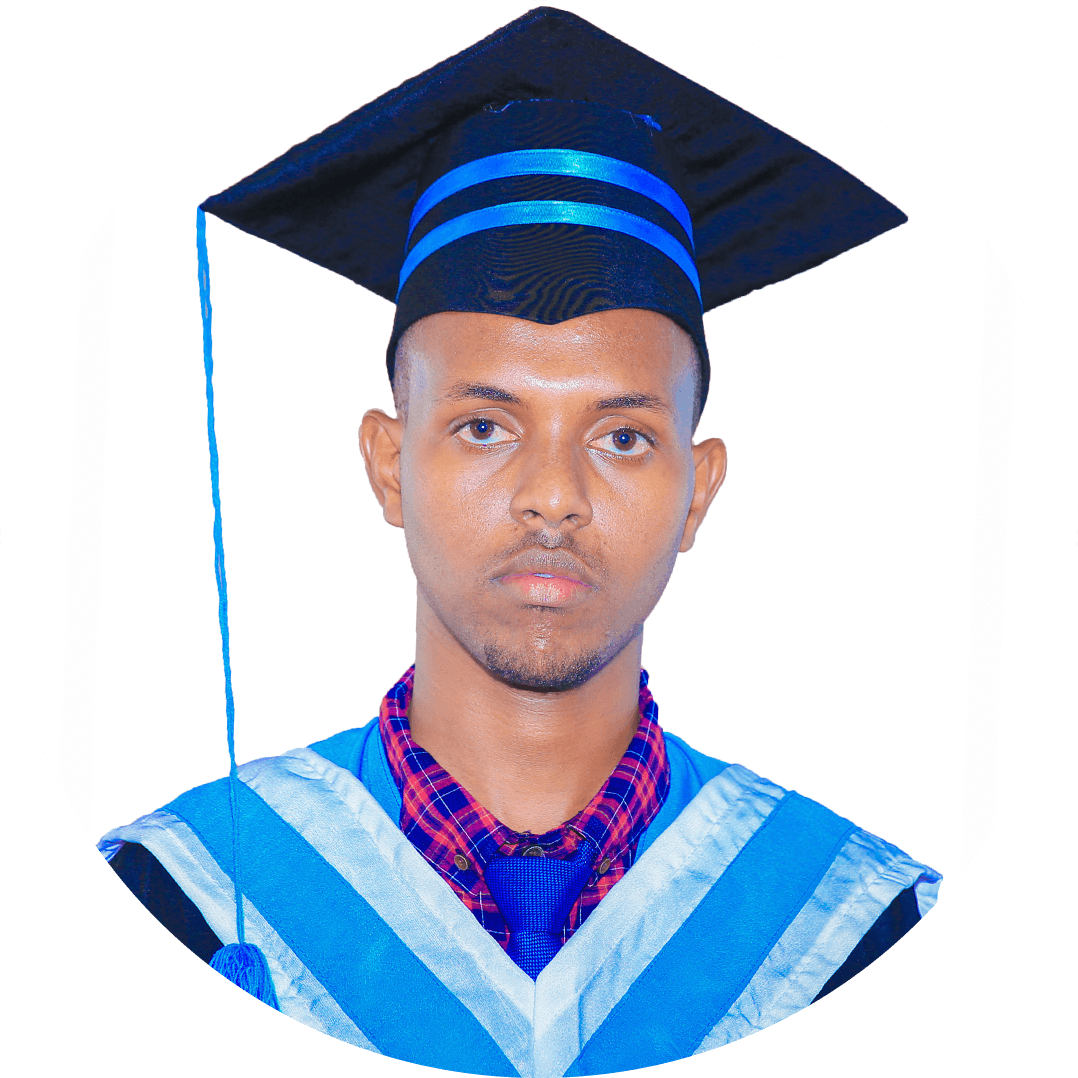Mohamed Abdirahman Abdulle, My four years at Hormuud University have been excellent and a memory to appreciate for a lifetime. The years spent here have been full of learning opportunities that were full of fun and frolic and sometimes with academic grind that one has to go through. The international exposure makes you a better man to face the challenges of the corporate world.